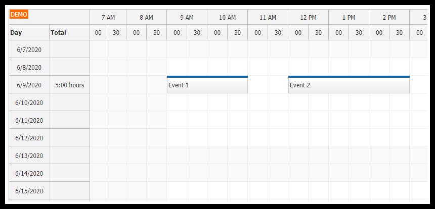 Angular 9 Timesheet Quick Start Project