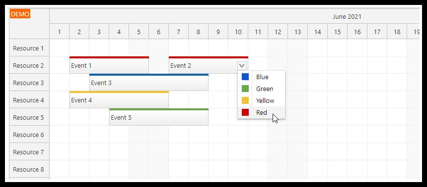html5 javascript scheduler spring boot java