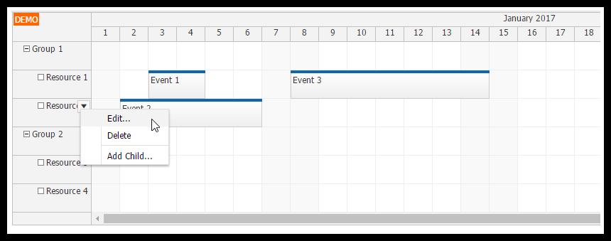 angular2 scheduler resource management