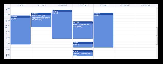 AJAX Event Calendar for Java and jQuery (Open-Source)