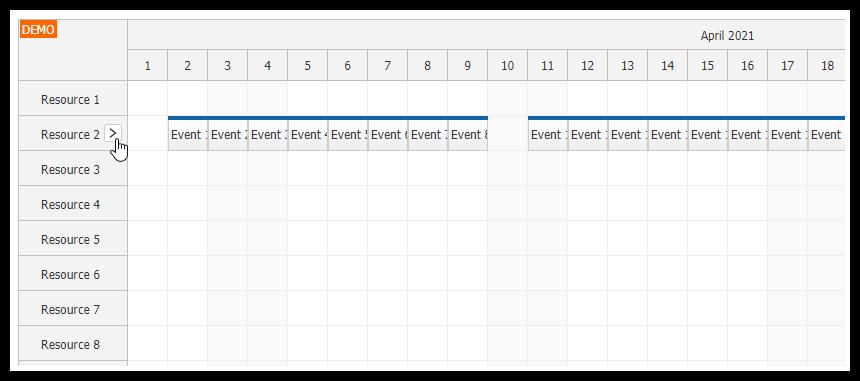 javascript scheduler find next free slot