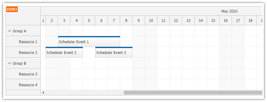 angular scheduler infinite scrolling