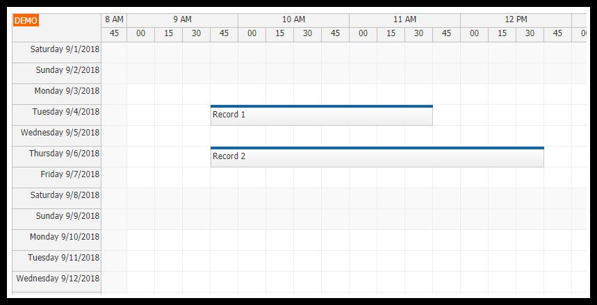 angular 6 timesheet quick start project