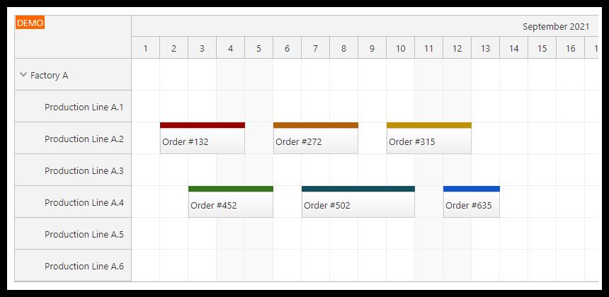 angular 12 scheduler quick start