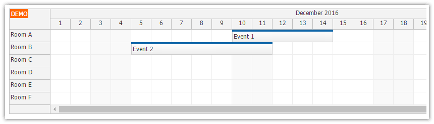 DayPilot Pro Scheduler for ASP.NET Core (Preview)