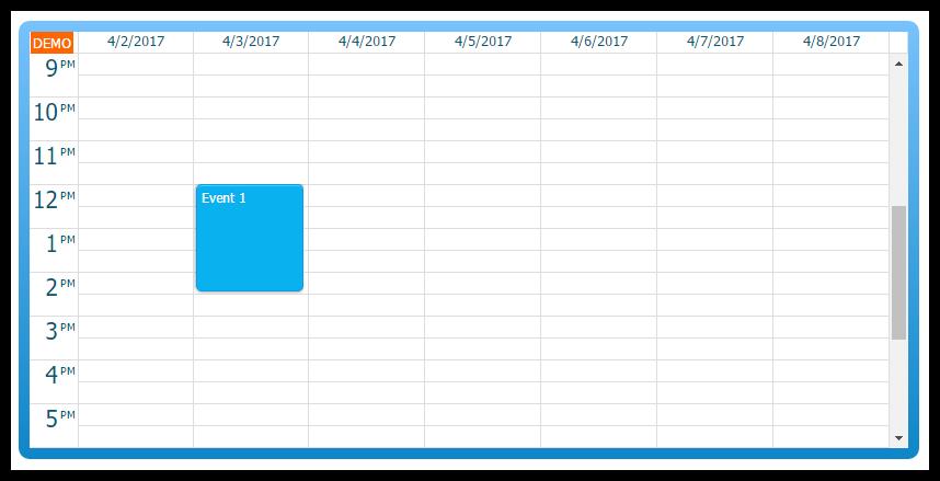 angular2 calendar css themes