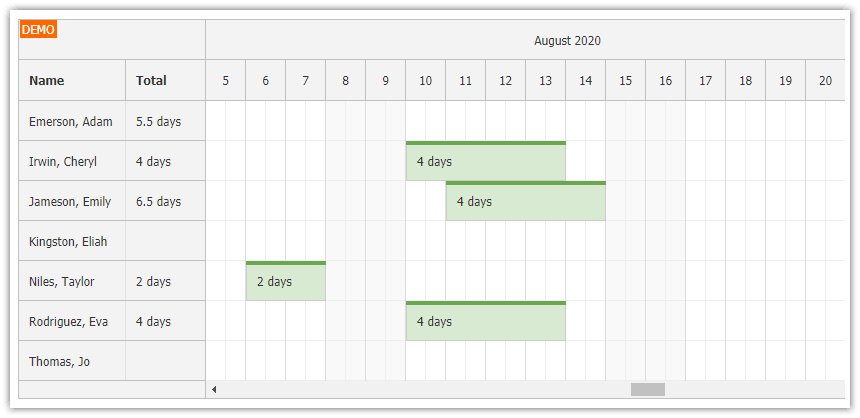 php annual leave scheduling tutorial html5 javascript mysql