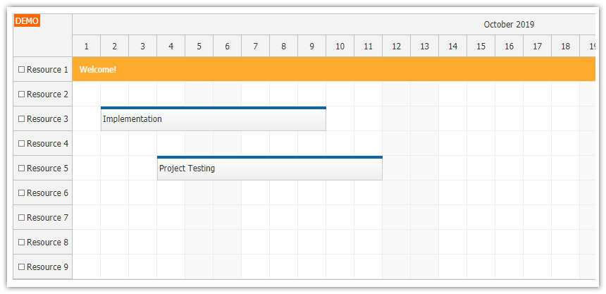 Angular Scheduler UI with Spring Boot Backend (Java)