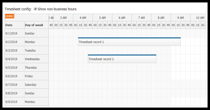 Angular 8 Timesheet Quick Start Project
