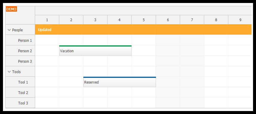 Angular Scheduler Tutorial (TypeScript + PHP/MySQL)