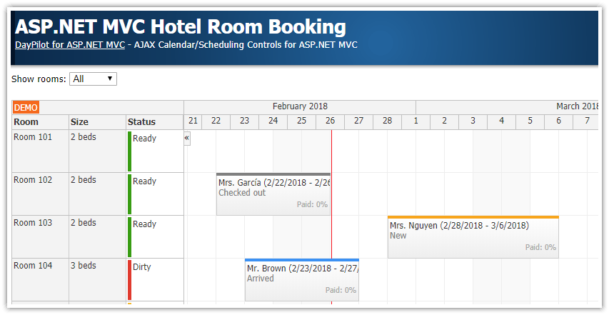 asp.net mvc 5 hotel room booking tutorial