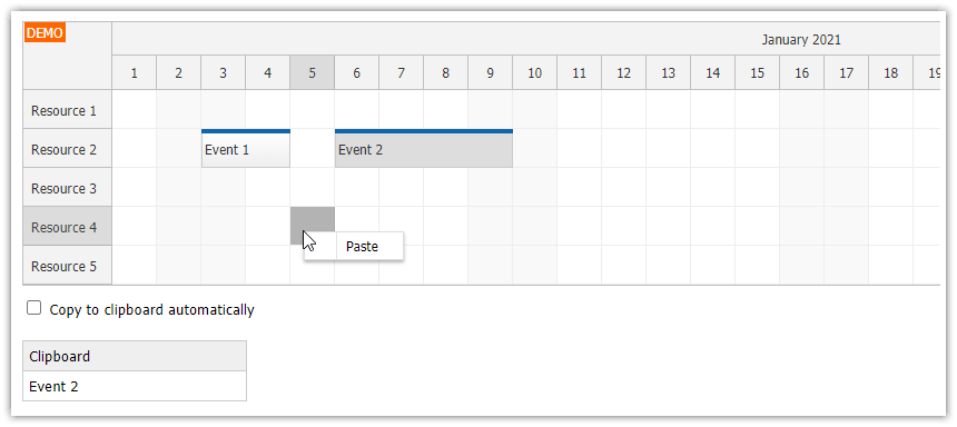 angular scheduler event copy and paste