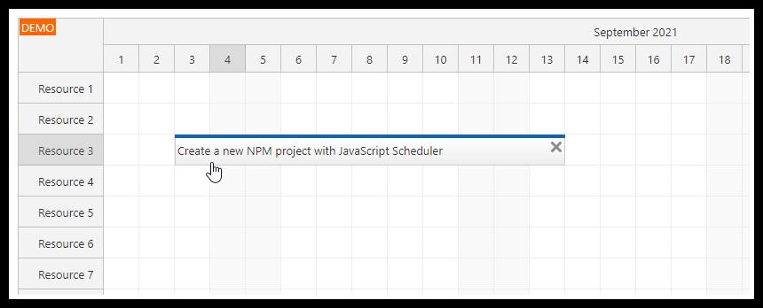 javascript scheduler npm webpack