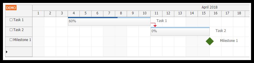 vue js gantt chart component tutorial