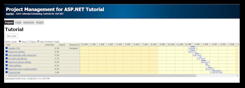 Project Management for ASP.NET (Open-Source)