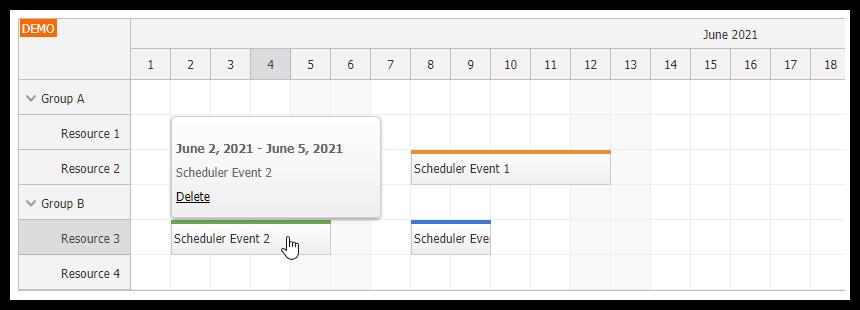 Angular Scheduler: Dynamic Tooltip