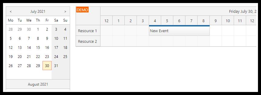 asp.net scheduler modalpopupextender