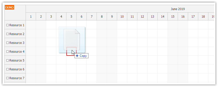 JavaScript Scheduler: Dragging Files and Other Items from Desktop