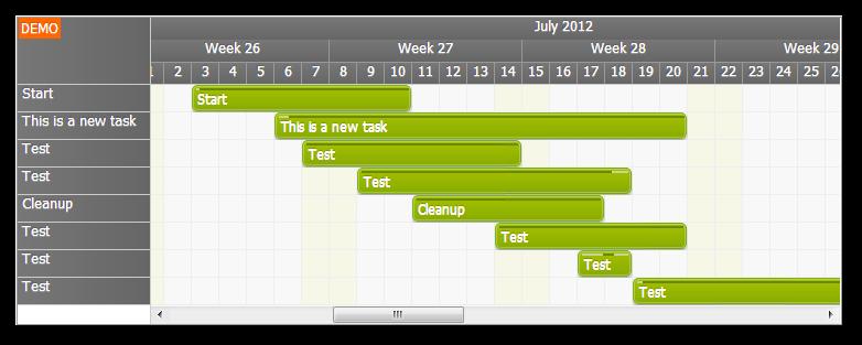 Gantt Chart Tutorial Asp Net Sql Server C Vb Net Daypilot Code