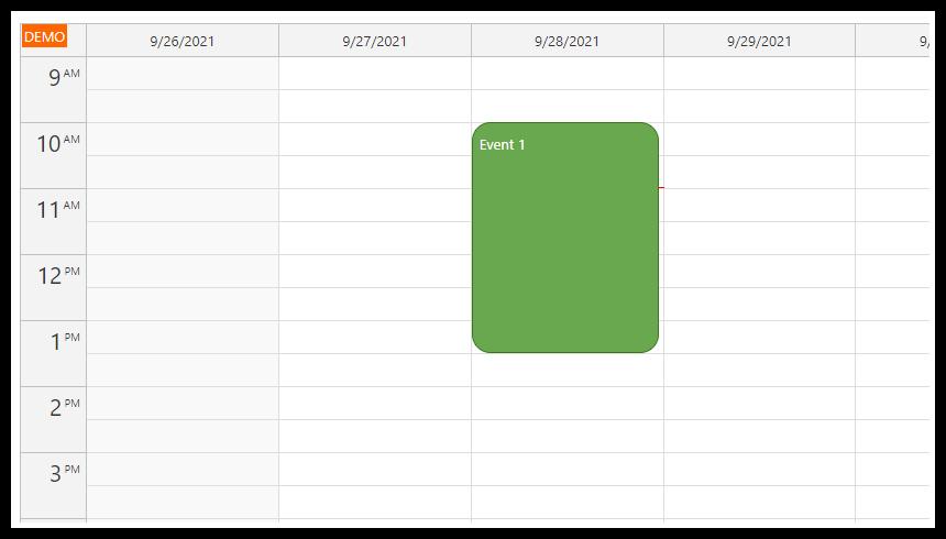 angular calendar detect orientation change rotation landscape portrait
