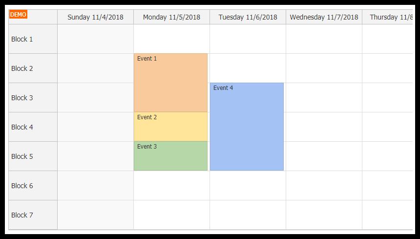 angular timetable tutorial