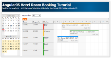 AngularJS Hotel Room Booking Tutorial