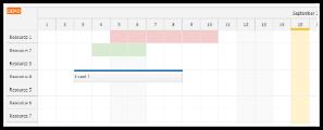 Angular Scheduler: Highlighting Holidays