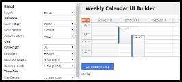 JavaScript Calendar Online Configurator