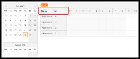 ASP.NET Scheduler with Sortable Columns
