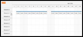 JavaScript Scheduler: Find Next Free Slot