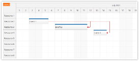 Angular Scheduler: Event Links