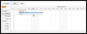 HTML5 Scheduler: Infinite Scrolling