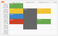 ASP.NET Timetable Tutorial (C#, VB.NET, SQL Server)