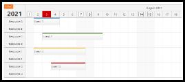 React Scheduler: Rendering JSX in Time Header and Upper-Left Corner