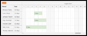 ASP.NET Annual Leave Booking (C#, VB, SQL Server)