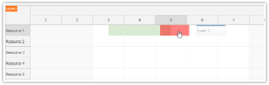 JavaScript Scheduler: Disabling Custom Date/Time Ranges