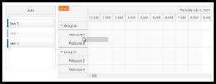 Angular Scheduler: Drag and Drop Task Queue