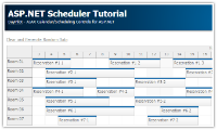 ASP.NET Scheduler Tutorial