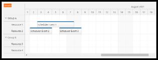 Angular Scheduler: Infinite Scrolling