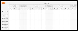 JavaScript Scheduler: Custom Time Header Segments