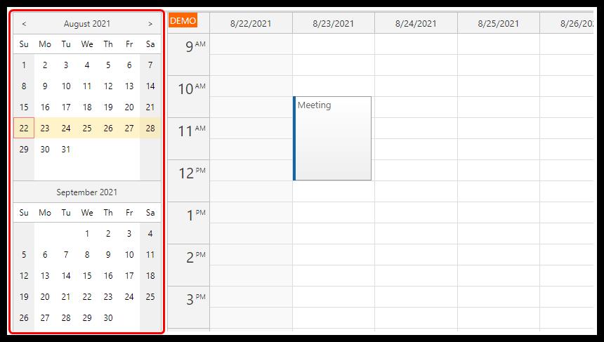 angular appointment calendar php mysql date picker