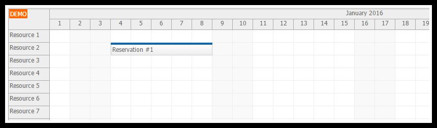 html5 scheduler pdf export javascript