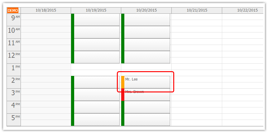 angularjs doctor appointment scheduling php slot waiting