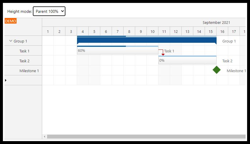 angular gantt chart full screen layout parent 100 pct
