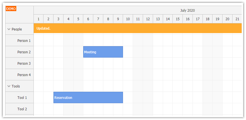 html5 scheduler javascript php mysql