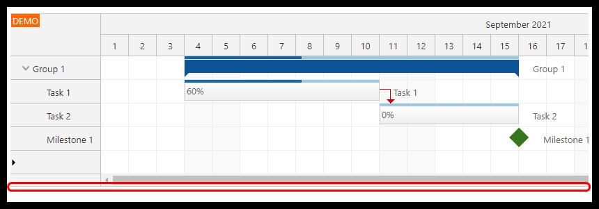angular gantt chart full screen layout max bottom border