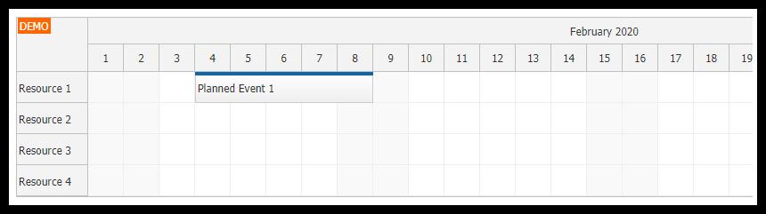 angular 9 scheduler component setup