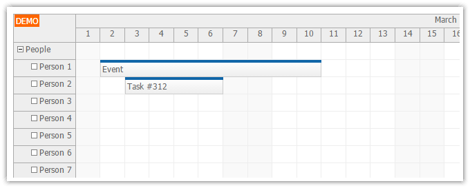 angularjs scheduler events ajax loading