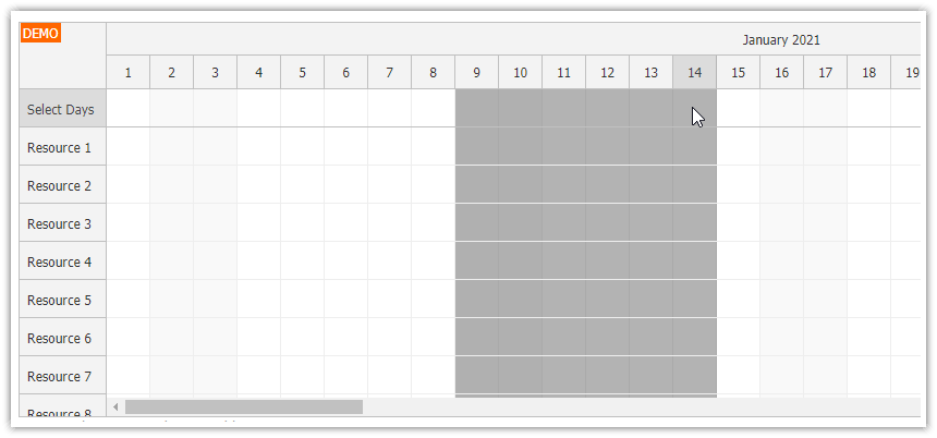 javascript-scheduler-frozen-rows-expand-selection.png