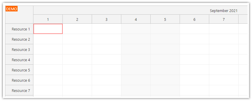 how to enable keyboard support in the javascript scheduler